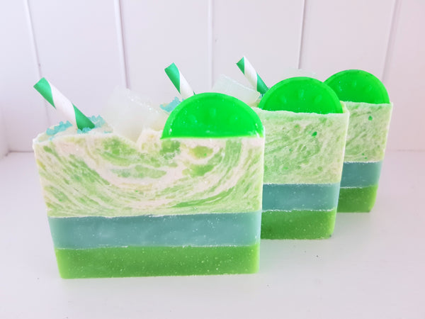 Mojito Cold Process Soap
