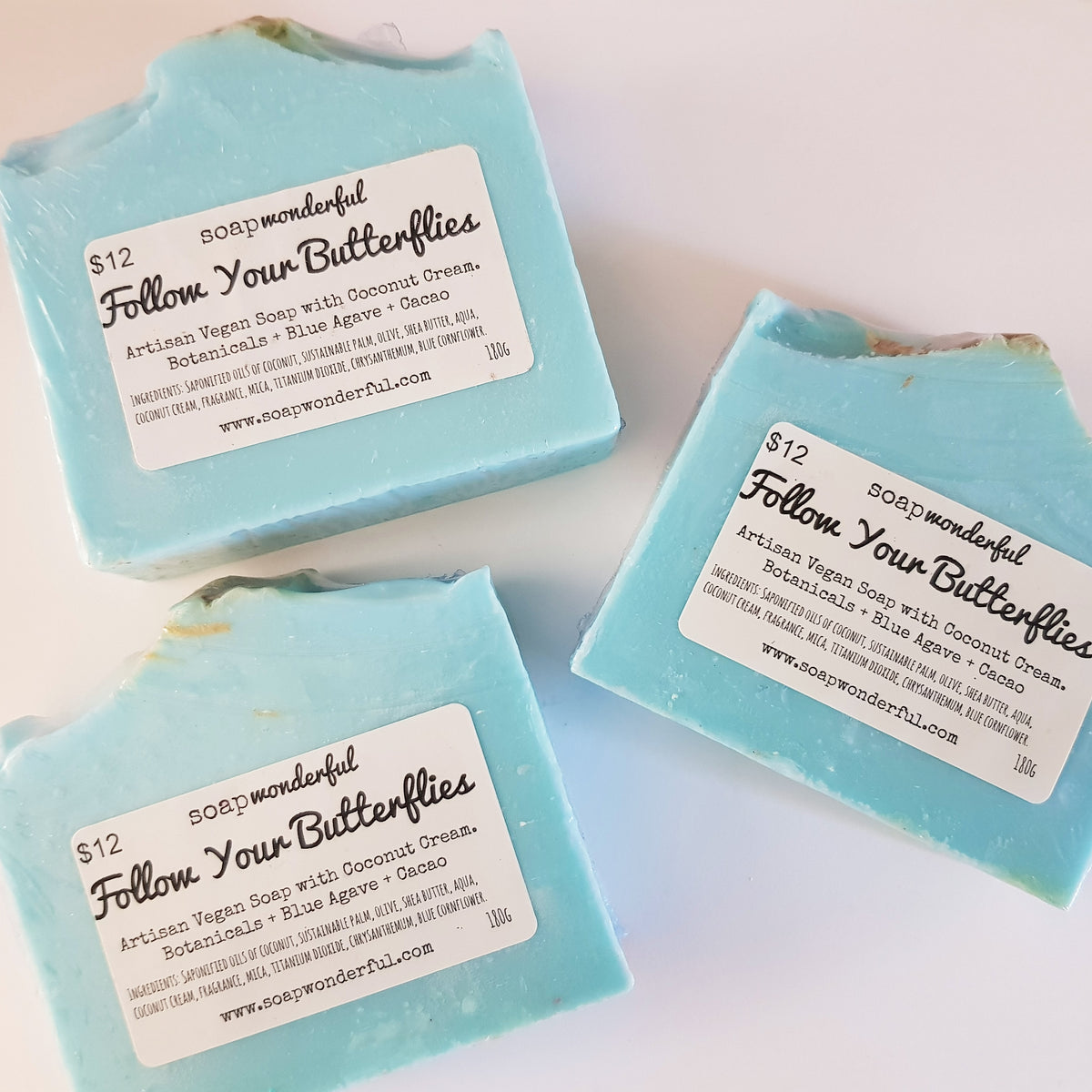 Follow Your Butterflies Cold Process Soap