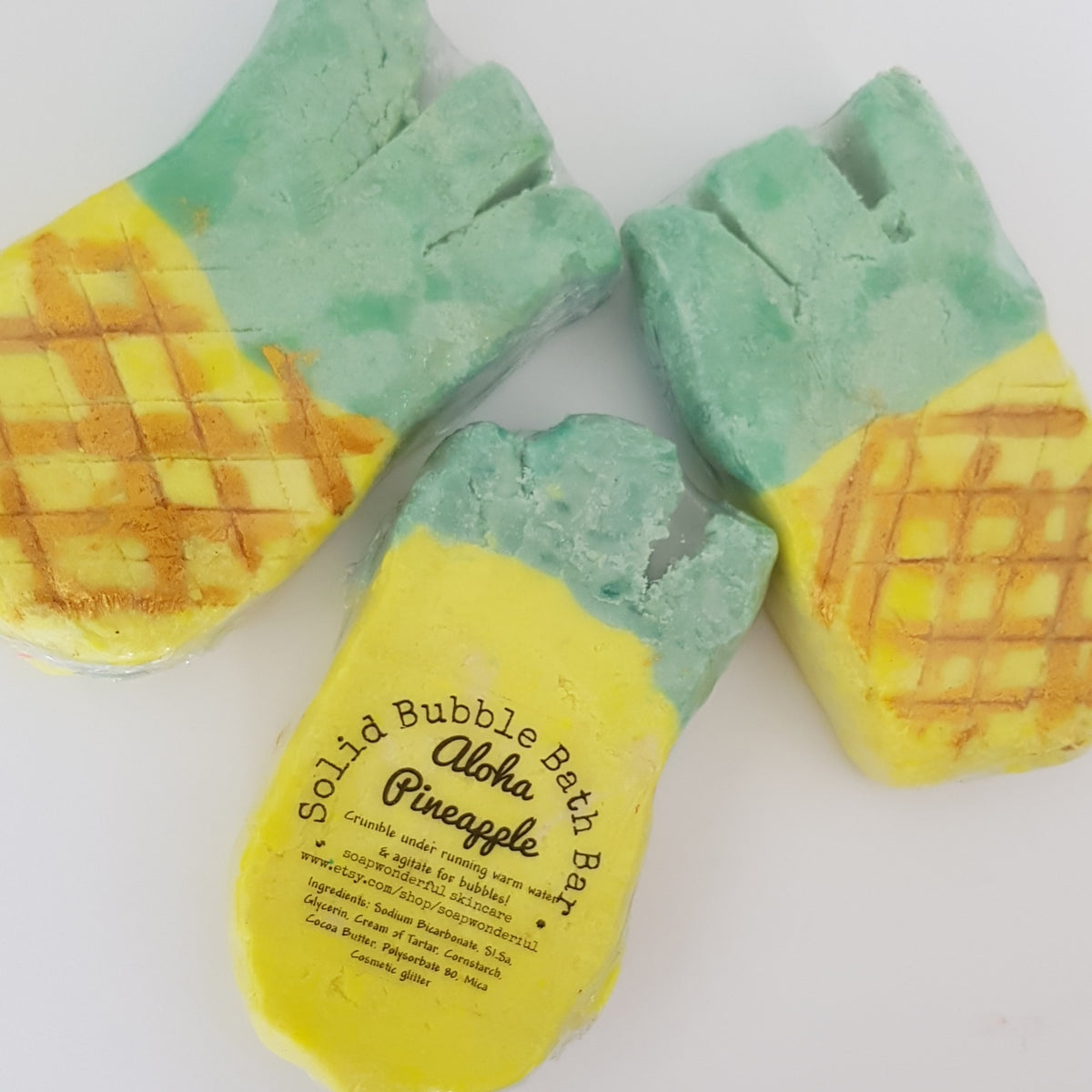 Pineapple Solid Bubble Bar