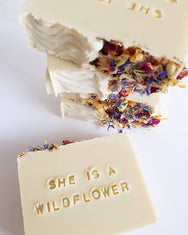 She's a Wildflower Cold Process Soap
