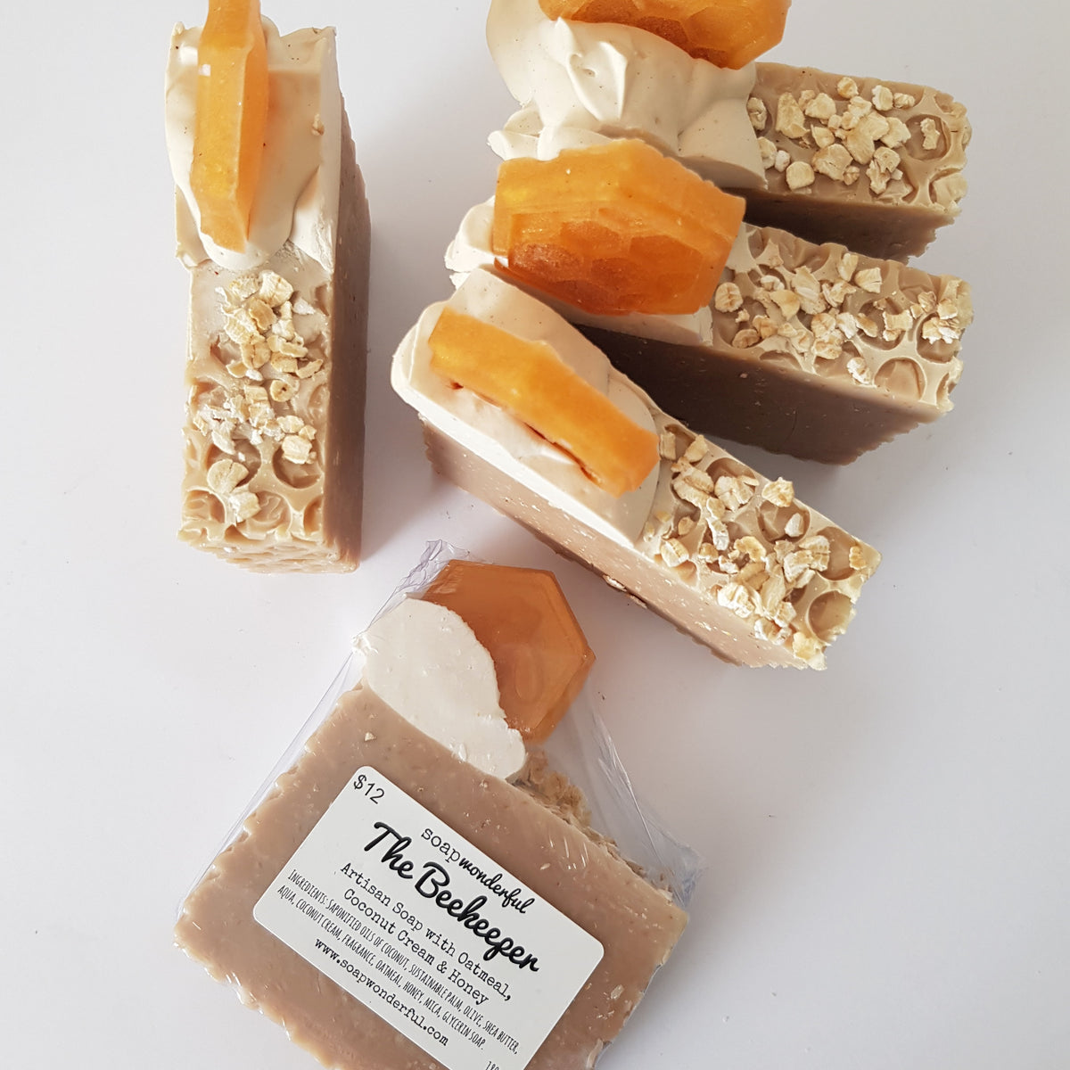 The Beekeeper Cold Process Soap