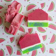 Wondermelon Watermelon Cold Process Soap