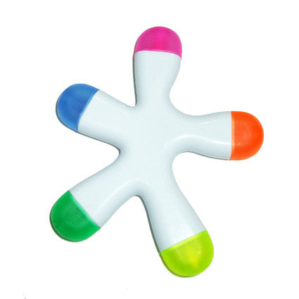 Full colour digital print Splat highlighter. Prices from £1.12p per pen - www.promopen.co.uk