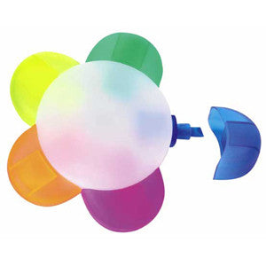 Full colour digital print Petal highlighter set. Prices from £1.02p - www.promopen.co.uk