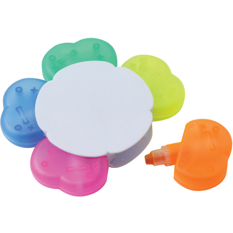 Clover wax highlighter X 100 1.35p per unit - www.promopen.co.uk
