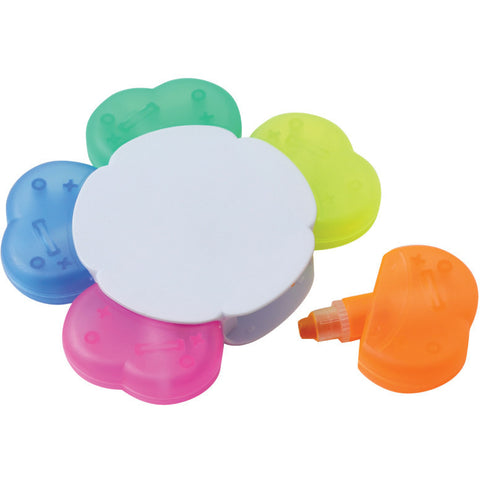 Full colour digital print Clover wax highlighter. Prices from £1.55p per pen - www.promopen.co.uk