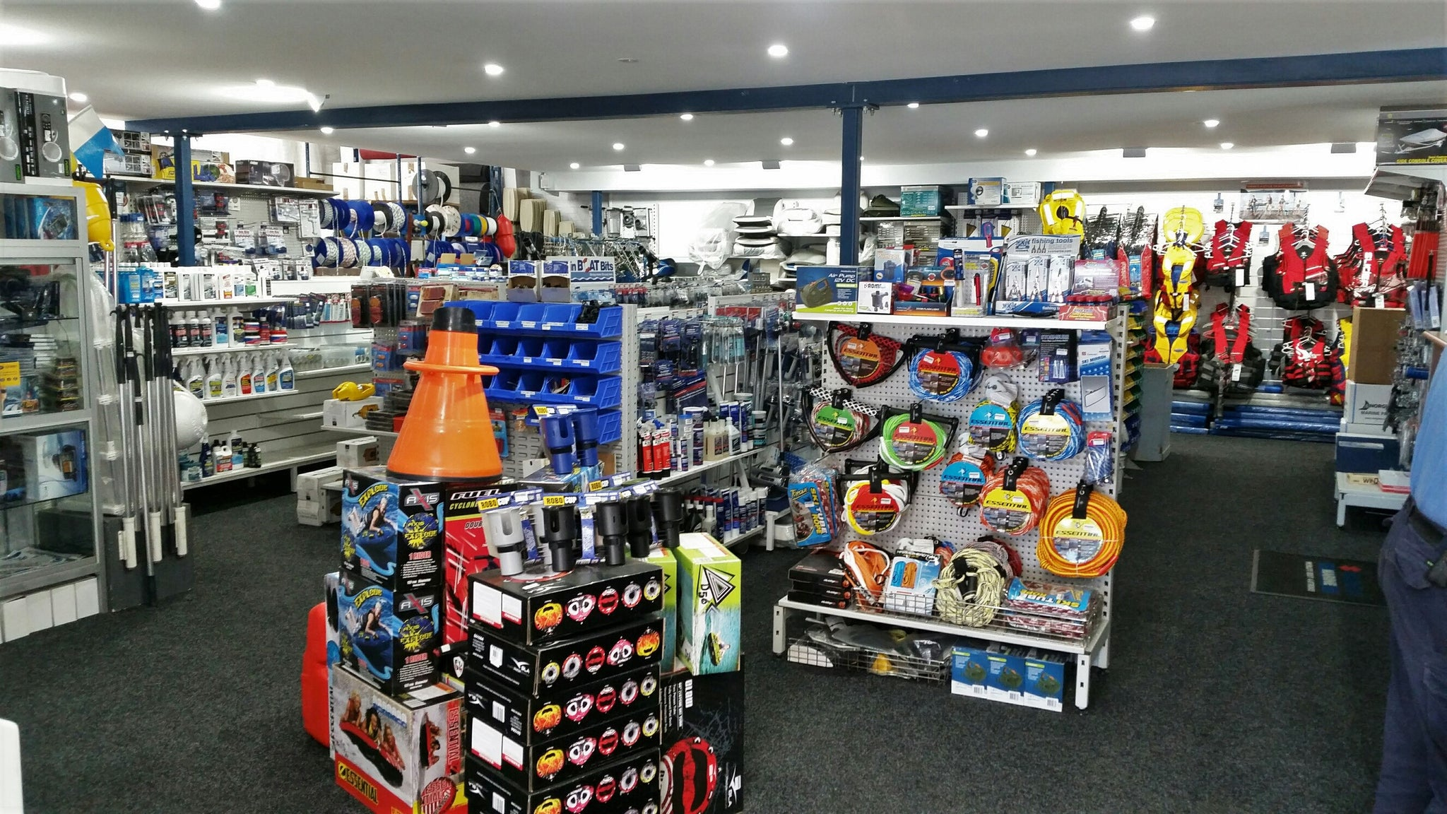 Hunts Marine's Sydney boat accessories department has moved!