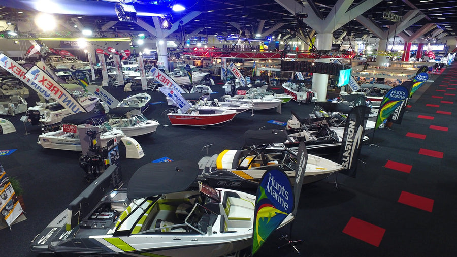 Hunts Marine at the Sydney Boat Show