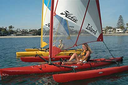 Single and tandem Mirage Drive pedal/sailing models