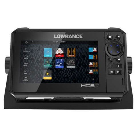 Lowrance HDS 7 Live Sounder/GPS Chartplotter with Active Imaging 3-in-1 Transducer - P/N 000-14904-001