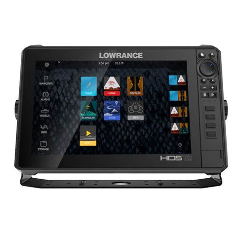 Lowrance HDS 12 Live Sounder/GPS Chartplotter with Active Imaging 3-in-1 Transducer - P/N 000-14908-001