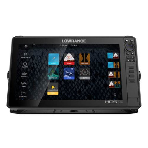 Lowrance HDS 16 Live Sounder/GPS Chartplotter with Active Imaging 3-in-1 Transducer - P/N 000-14910-001