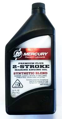 Mercury 2 Stroke Premium Plus Oil 946ml (PN:92-858026K01)