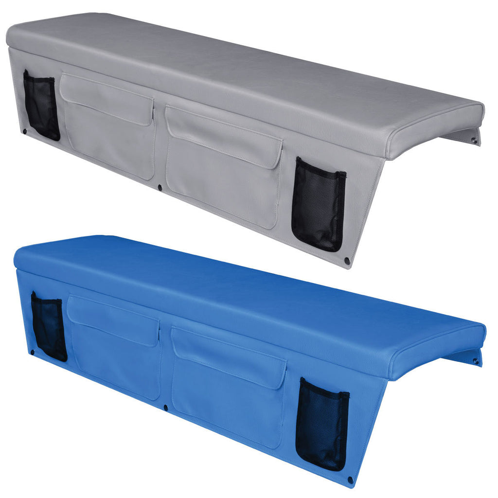 Boat Bench Seat Cushions with Side Pocket - 400mm Wide