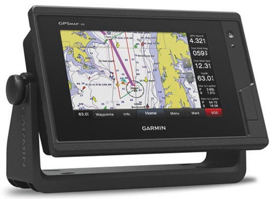 Garmin Touchscreen GPSMAP 752xs Sounder/GPS/Mapping with ClearVu
