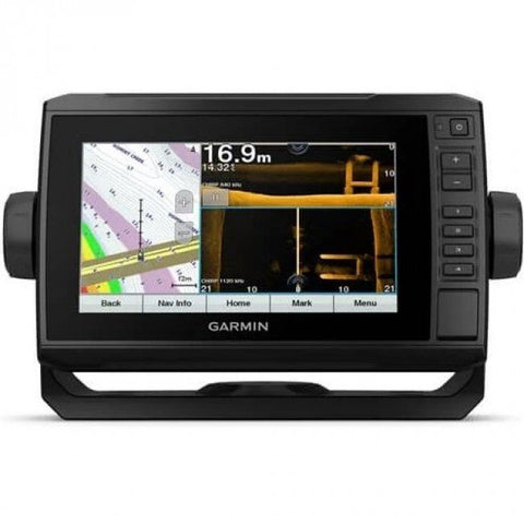 Garmin Touchscreen echoMAP UHD 75sv Sounder/GPS/Mapping with ClearvuVu and SideVu