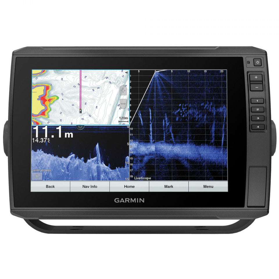 Garmin Touchscreen echoMAP 105SV ULTRA Sounder/GPS/Mapping with ClearVu and SideVu