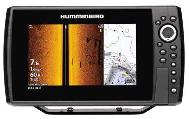 Humminbird Helix 8 Chirp MSI GPS Gen 3 inc Nav card