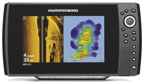 Humminbird Helix 9 Chirp MSI GPS Gen 3 inc Nav Card