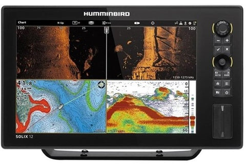 Humminbird Solix 12 Chirp MEGA SI GPS Touchscreen Gen 2