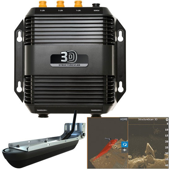 Lowrance StructureScan 3D for all HDS Touch Units - Hunts Marine