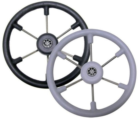 Leader 367mm 6 Spoke Steering Wheel