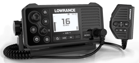 Lowrance Link-9 DSC VHF with AIS receiver - P/N 000-14472-001