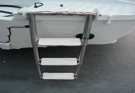 Quintrex Folding Stainless Telescopic Ladder