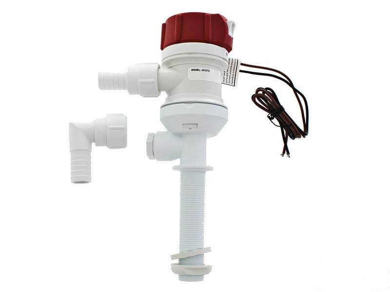 rule 500gph 800gph and 1100gph live bait tank pumps straight Marine Aerator Pump rule 500gph 800gph and 1100gph live bait tank pumps straight