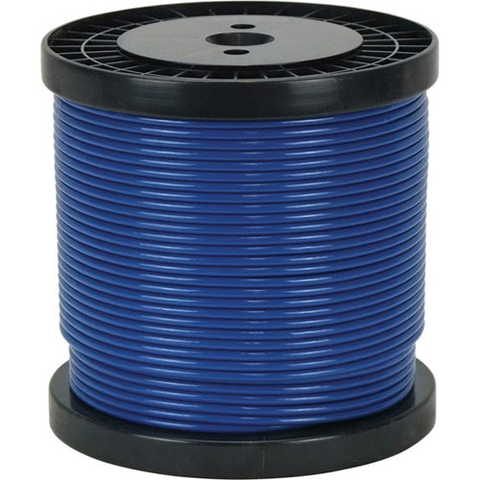 Blue Plastic Coated Steering Cable