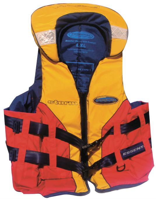 Storm Adult PFD Type 1 Lifejacket - 5 Sizes