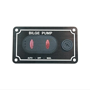 Horizontal 3 Position Bilge Pump Switch