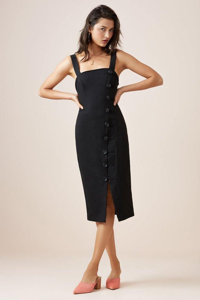 Mila Dress in Black by Finders