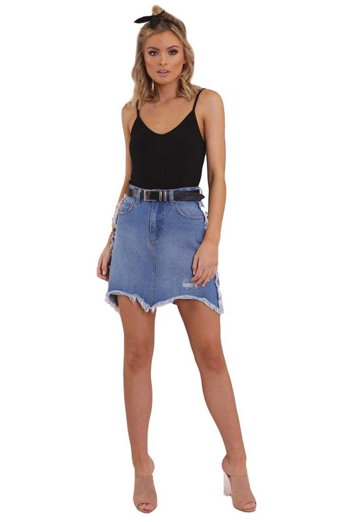 Caroline Denim Skirt