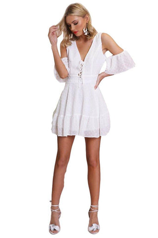 Hailey Wrap dress Madison Square Clothing