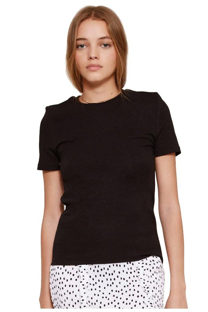 Lila Fitted T-Shirt