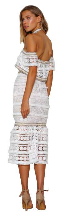 Midsummer Night Midi Dress