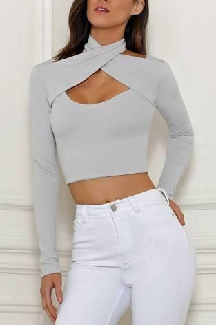 Balance top in Dove