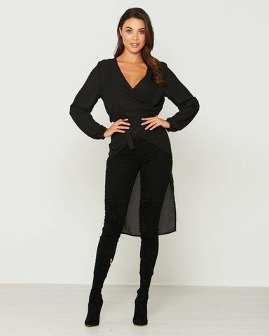 FLORENCE LONG SLEEVE PLAYSUIT