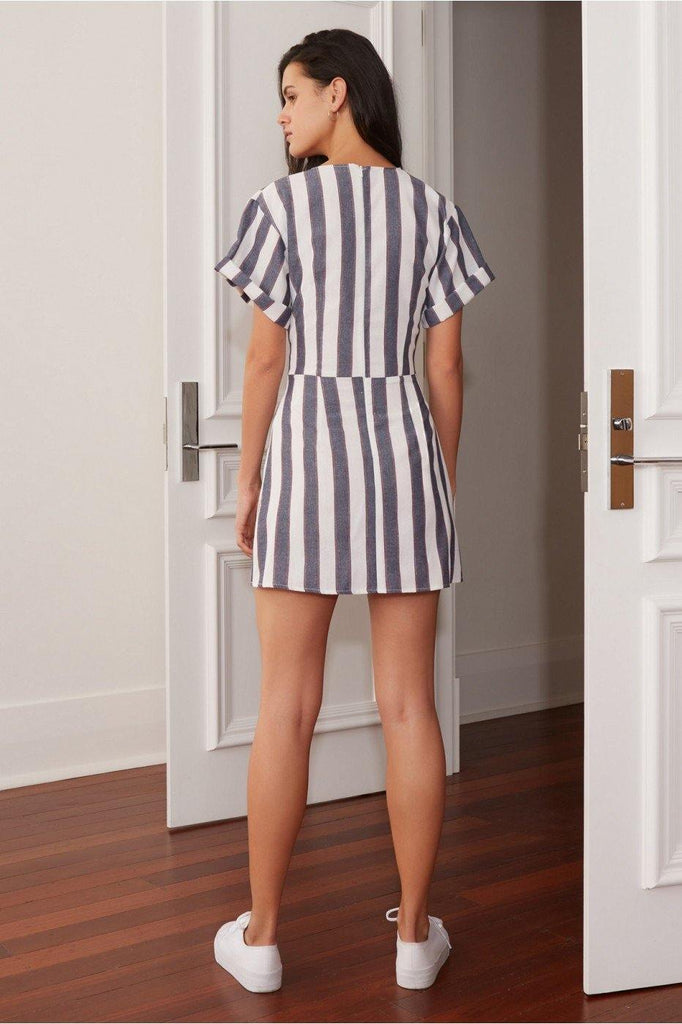 Sequence Stripe dress