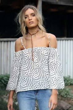 Tasmin Cold Shoulder blouse