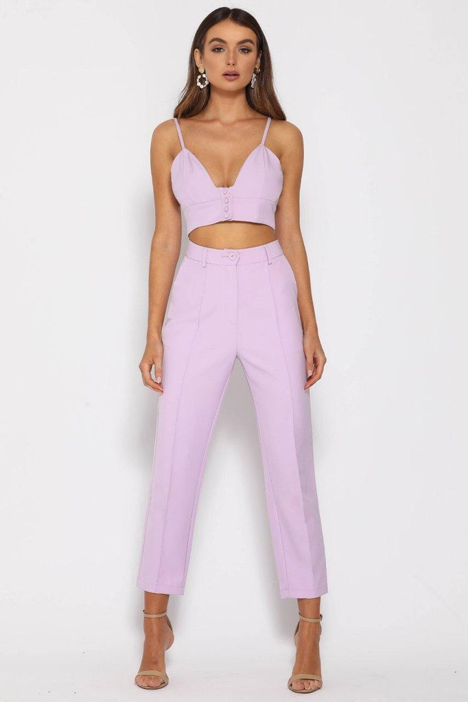 Need Want Top Lilac