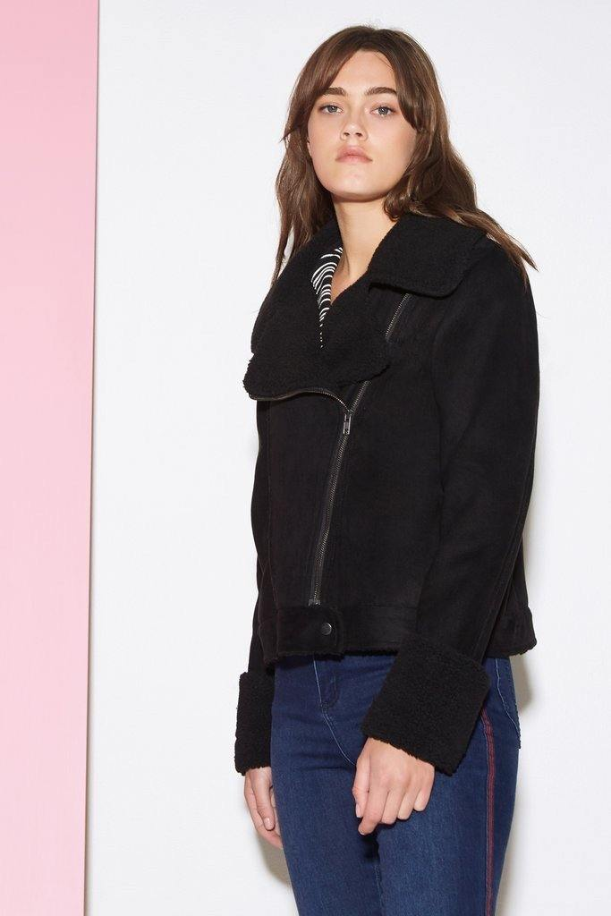 Street light Biker Jacket