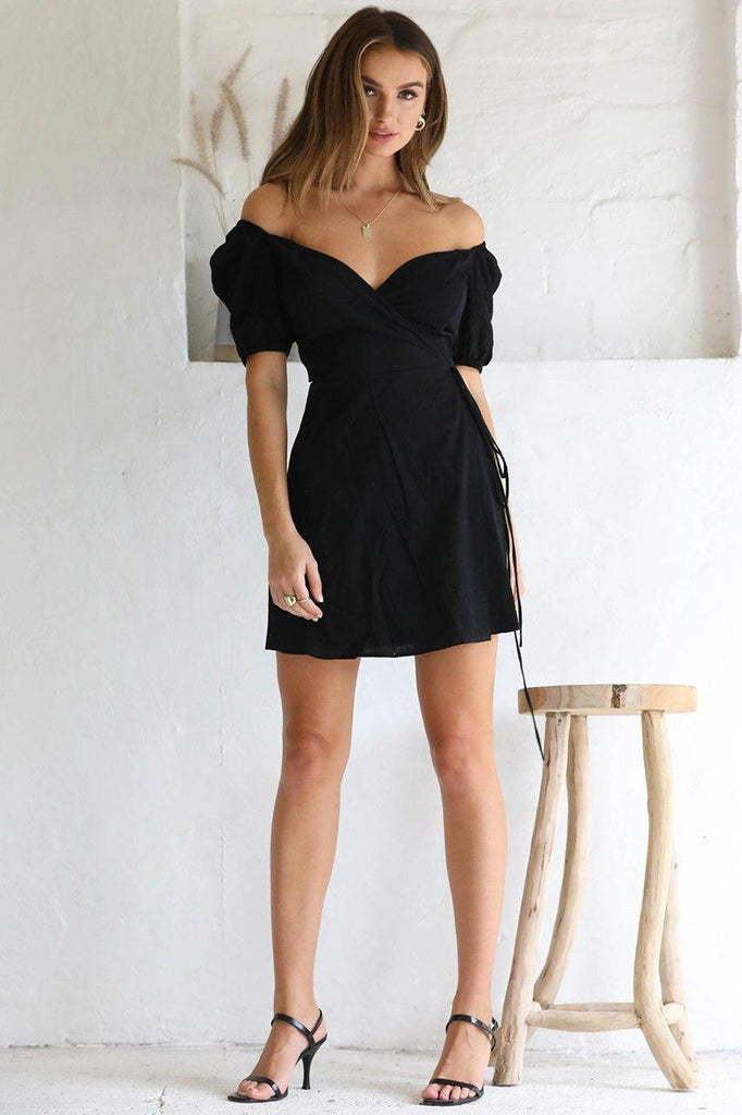 Megan Wrap Dress