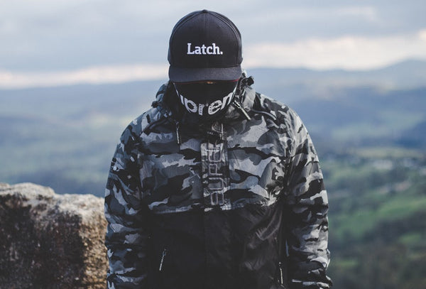 latch apparel co original snapback streetwear