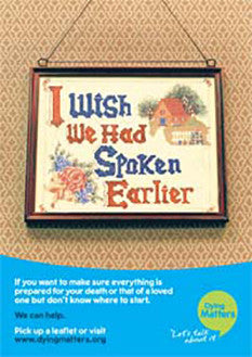 5 'I Wish We Had Spoken Earlier' Posters