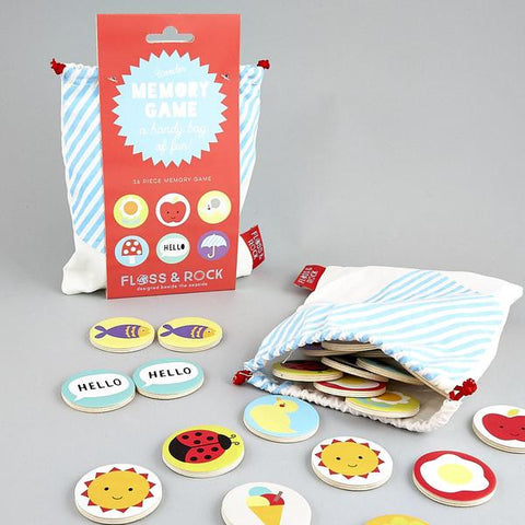 Floss and Rock Bags of Fun Memory Game