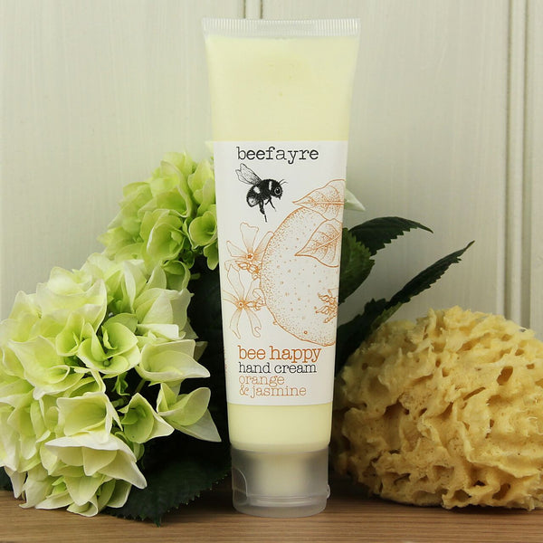 Bee Happy Orange & Jasmine Hand Cream
