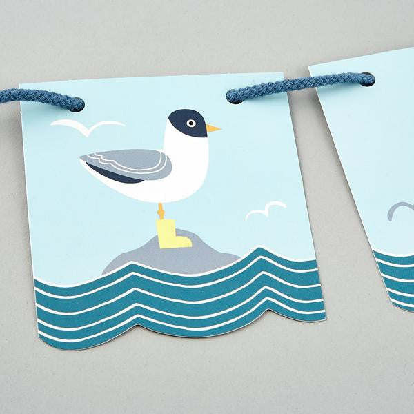 Floss and Rock - Personalised Whale Bunting