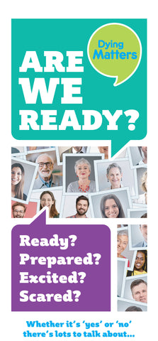 BRAND NEW - 50 'Are We Ready?' Leaflets